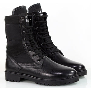 Black US Army Print Desert Boots Shoes 484 Streetwear US Army Boots