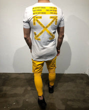 Load image into Gallery viewer, Yellow Cargo Pocket Jogger Pant SJ268 Streetwear Jogger Pants