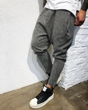 Load image into Gallery viewer, Beige Gray Baggy Jogger Pant B307 Streetwear Jogger Pants
