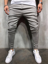 Load image into Gallery viewer, Gray Side Striped Casual Jogger Pant A150 Streetwear Jogger Pants - Sneakerjeans