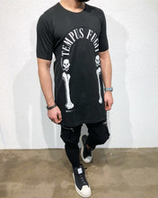 Load image into Gallery viewer, Black Printed Oversize T-Shirt B69 Streetwear T-Shirts - Sneakerjeans