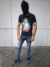 Load image into Gallery viewer, Black Escobar El Patron Printed T-Shirt OT10 Streetwear T-Shirts