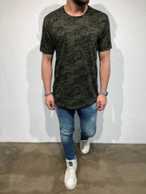 Load image into Gallery viewer, Khaki Oversized T-Shirt B56 Streetwear T-Shirts