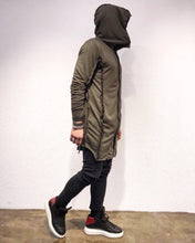 Load image into Gallery viewer, Khaki Big Hoodie Jacket SJ236 Streetwear Cardigan