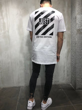 Load image into Gallery viewer, White Printed Oversize T-Shirt A16 Streetwear T-Shirts