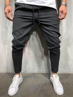 Anthracite Banding Casual Jogger Pant A189 Streetwear Jogger Pants - Sneakerjeans