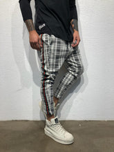 Load image into Gallery viewer, Checkered Striped Baggy Jogger Pant BL145 Streetwear Jogger Pants - Sneakerjeans