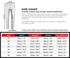 Black Skinny Fit Denim A219 Streetwear Jeans - Sneakerjeans