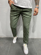 Load image into Gallery viewer, Khaki Side Striped Jogger Pant 4474 Streetwear Jogger Pants
