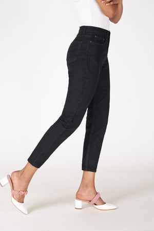 Sneakerjeans Black Mom Jeans PN5863