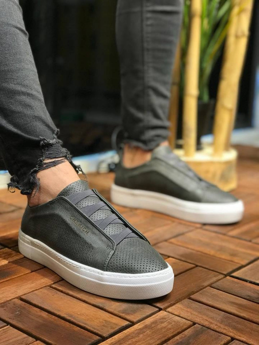 Anthracite Banding Sneaker CH011