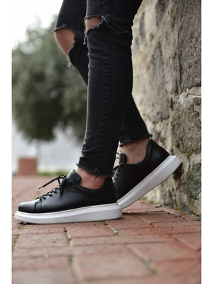 Black White Sole Sneaker CH257
