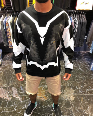 Sneakerjeans Black Lion Printed Sweater ES22