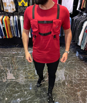 Sneakerjeans Red Utility T-Shirt ES47