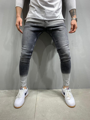 Sneakerjeans Double Colored Skinny Jeans AY755