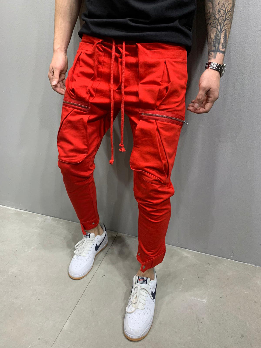 Sneakerjeans Red Tactical Jogger Pant AY807