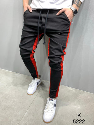Sneakerjeans Red Striped Jogger Pant AY810