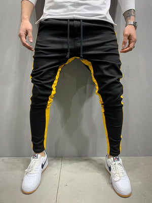 Sneakerjeans Yellow Striped Jogger Pant AY809