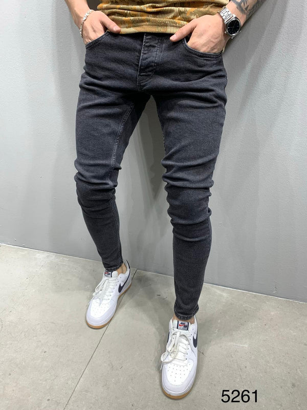 Sneakerjeans Black Washed Skinny Jeans AY835
