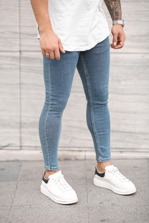 Sneakerjeans Blue Skinny Jeans DP45