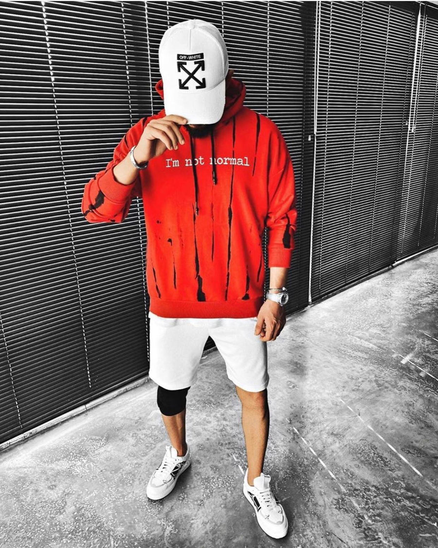 Sneakerjeans Red Rap Legend Printed Hoodie ES13