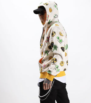 Sneakerjeans Printed Hoddie Jacket KB003