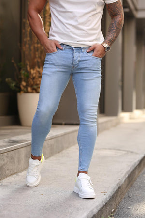 Sneakerjeans Blue Skinny Jeans DP156