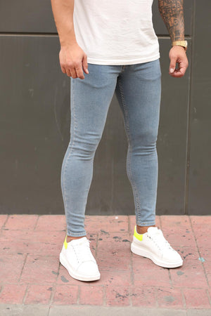 Sneakerjeans Blue Skinny Jeans DP105