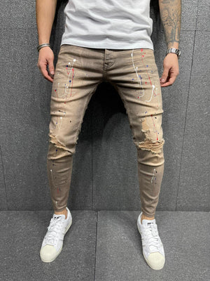 Sneakerjeans Painted Jeans AY188