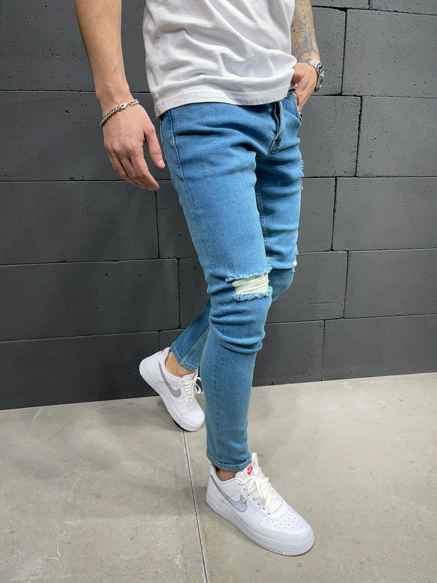 Sneakerjeans Ripped Jeans AY235