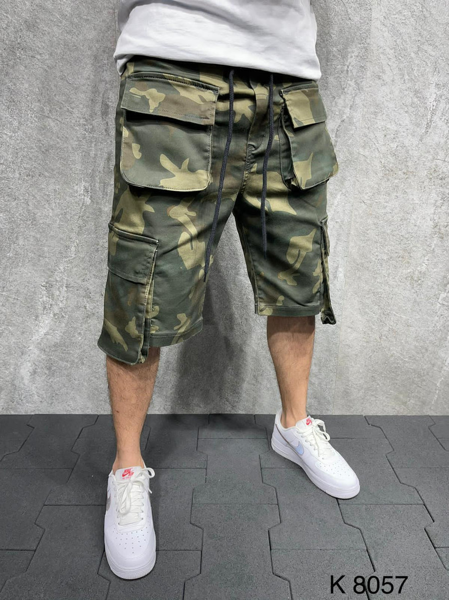 Sneakerjeans Camouflage Cargo Short AD109