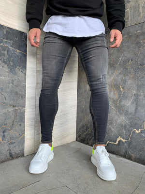 Sneakerjeans Gray Jeans DP150