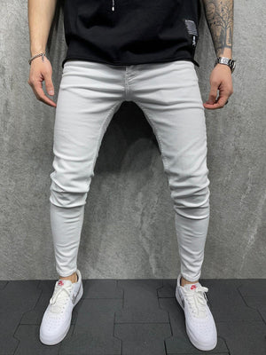 Sneakerjeans White Jeans AD124