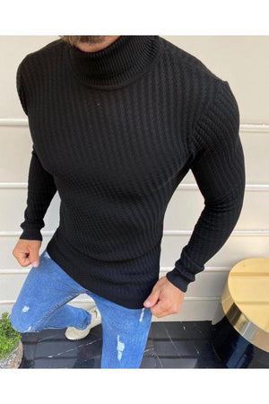 Sneakerjeans Black Collar Sweater SE698
