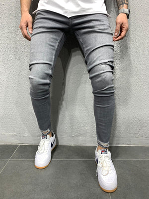 Sneakerjeans Gray Ripped Jeans AY721