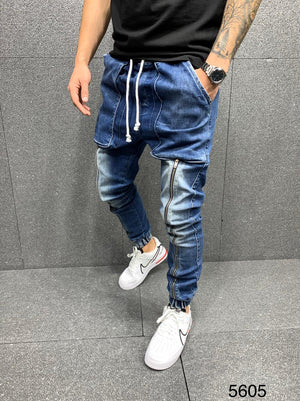 Sneakerjeans Blue Baggy Jeans AY092