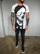 Load image into Gallery viewer, White Printed T-Shirt BL441 Streetwear T-Shirts