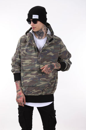 Sneakerjeans Camo Windbreaker Jacket KB011