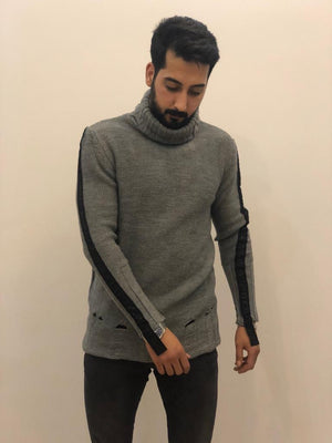 Sneakerjeans Gray Collar Sweater AY158
