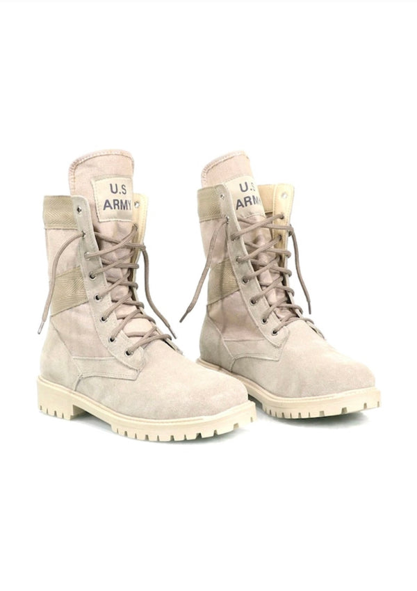 Sneakerjeans Army Print Desert Military Boots 484