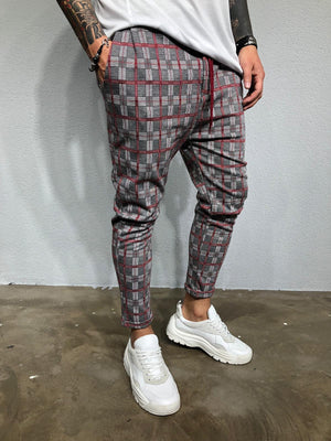 Checkered Jogger Pant BL413 Streetwear Jogger Pants - Sneakerjeans