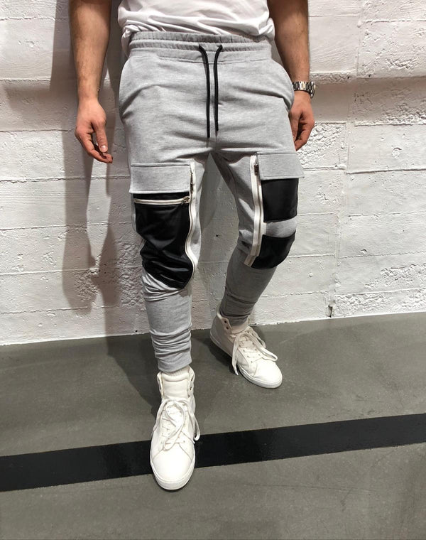 Sneakerjeans Gray Cargo Pocket Jogger Pant KB295