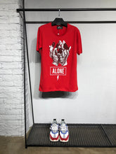 Load image into Gallery viewer, Red Printed T-Shirt BL431 Streetwear T-Shirts