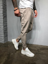 Load image into Gallery viewer, Beige Casual Jogger Pant BL407 Streetwear Jogger Pants - Sneakerjeans