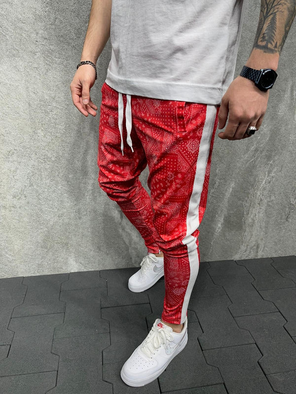 Sneakerjeans Red Jogger Pant AD141