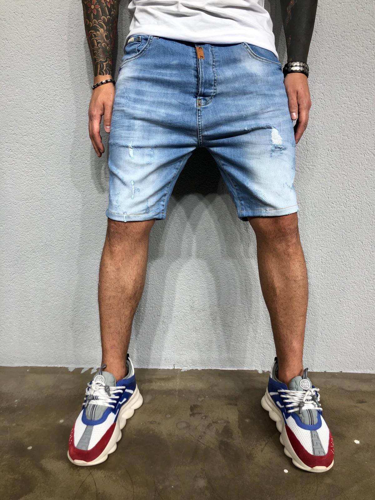 Discover the Latest Men's Denim Shorts at Sneakerjeans