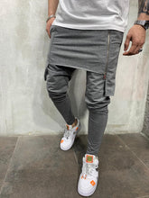 Load image into Gallery viewer, Gray Wrap Joggers AY521 Streetwear Mens Jogger Pants - Sneakerjeans