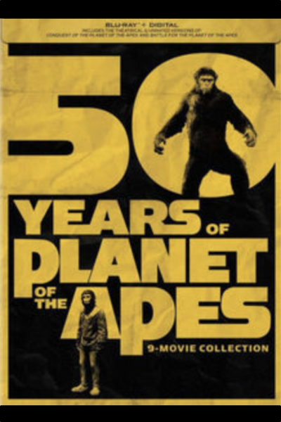 50 Years of Planet of the Apes 9-Movie Collection HD MA