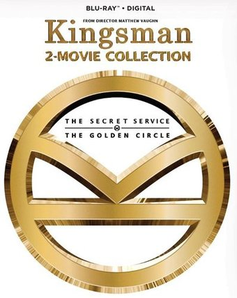 Kingsman 2-Movie Collection HD MA