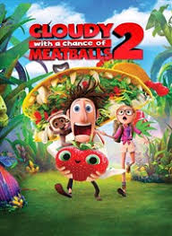 Cloudy with a Chance of Meatballs 2 HD UV